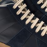 Мужские кроссовки Maison Margiela Replica High Top Carry Over Dark Blue фото- 5