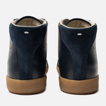Мужские кроссовки Maison Margiela Replica High Top Carry Over Dark Blue фото- 6