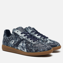 Мужские кроссовки Maison Margiela Replica Low Hand Painted Navy/Painter