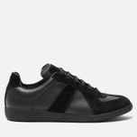 Мужские кроссовки Maison Margiela Replica Low Top Black фото- 0