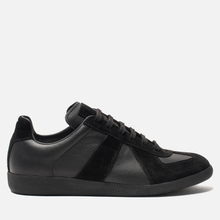 Мужские кроссовки Maison Margiela Replica Low Top Black фото- 3