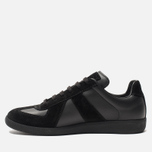 Мужские кроссовки Maison Margiela Replica Low Top Black фото- 2