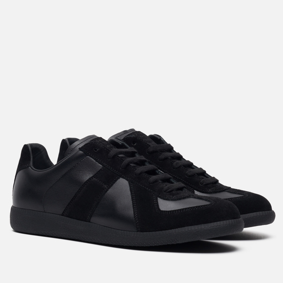 Мужские кроссовки Maison Margiela Replica Low Top Black
