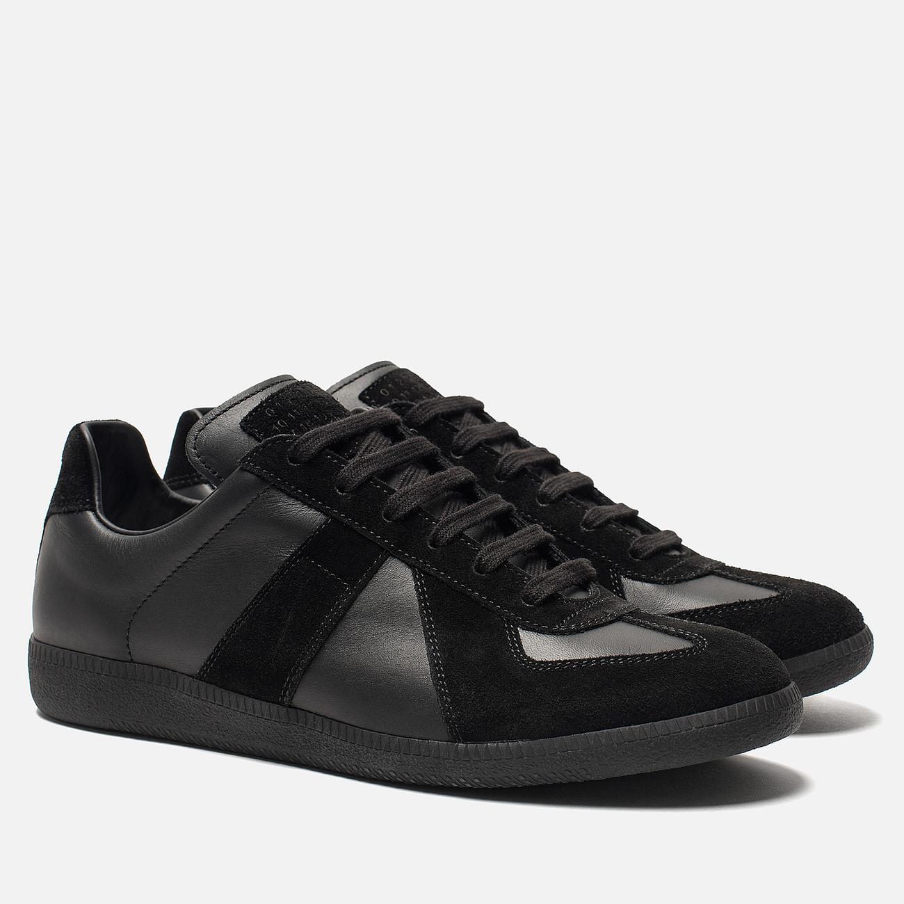 Мужские кроссовки Maison Margiela Replica Low Top Black
