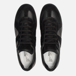 Мужские кроссовки Maison Margiela Replica Low Top Black фото- 5