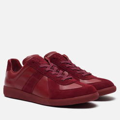 Мужские кроссовки Maison Margiela Replica Low Top Bordeaux