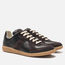 Мужские кроссовки Maison Margiela Replica Low Top Carry Over Black/Grey фото- 0
