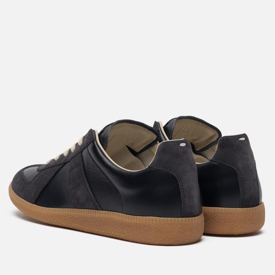 Мужские кроссовки Maison Margiela Replica Low Top Carry Over Black/Grey
