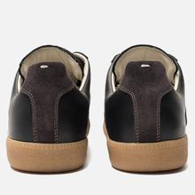 Мужские кроссовки Maison Margiela Replica Low Top Carry Over Black/Grey фото- 2
