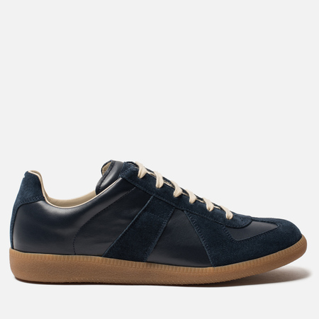 Мужские кроссовки Maison Margiela Replica Low Top Carry Over Dark Blue