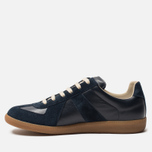 Мужские кроссовки Maison Margiela Replica Low Top Carry Over Dark Blue фото- 1