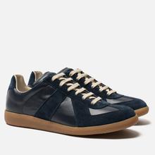 Мужские кроссовки Maison Margiela Replica Low Top Carry Over Dark Blue фото- 0