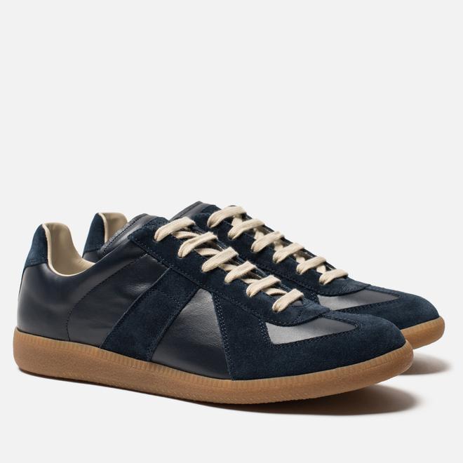 Мужские кроссовки Maison Margiela Replica Low Top Carry Over Dark Blue