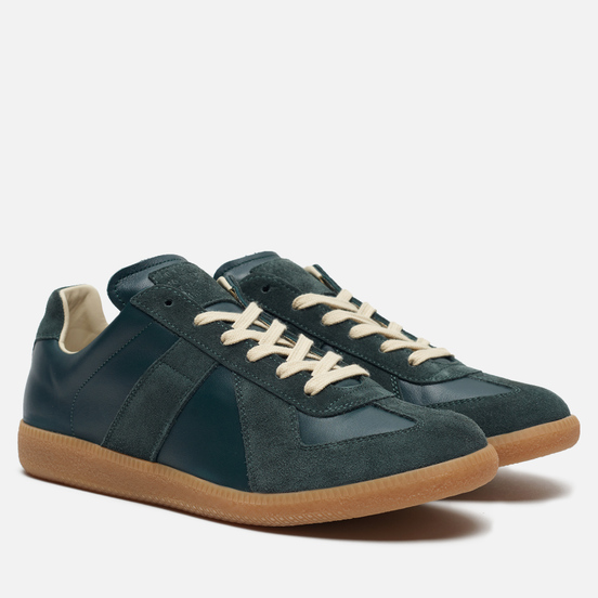Мужские кроссовки Maison Margiela Replica Low Top Carry Over Deep Forest