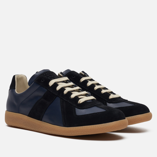 Мужские кроссовки Maison Margiela Replica Low Top Carry Over Navy/Black