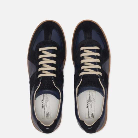 Мужские кроссовки Maison Margiela Replica Low Top Carry Over Navy/Black
