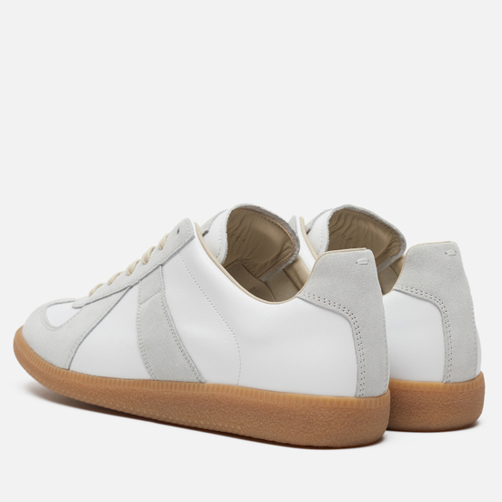 Мужские кроссовки Maison Margiela Replica Low Top Carry Over Off White