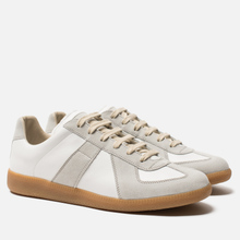 Мужские кроссовки Maison Margiela Replica Low Top Carry Over Off White фото- 0