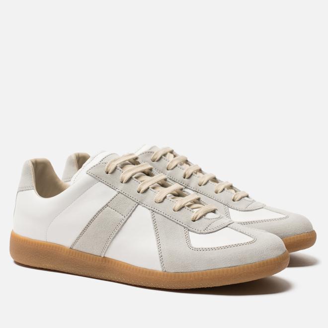 Мужские кроссовки Maison Margiela Replica Low Top Carry Over Off White