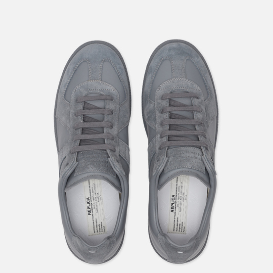 Мужские кроссовки Maison Margiela Replica Low Top Graphite