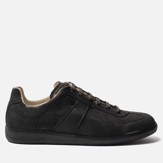Мужские кроссовки Maison Margiela Replica Low Top Grey/Black Print