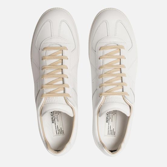 Мужские кроссовки Maison Margiela Replica Low Top White Base