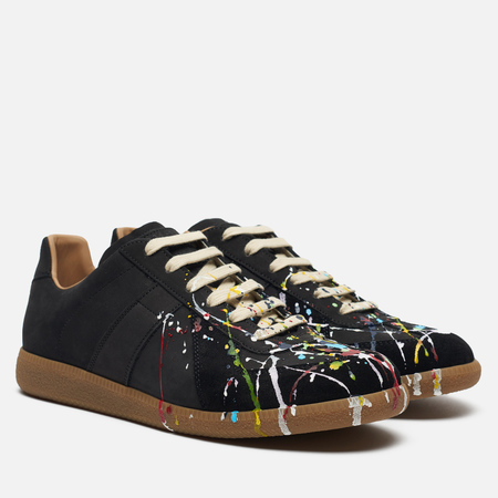 Мужские кроссовки Maison Margiela Replica Painter Black/Multicolor