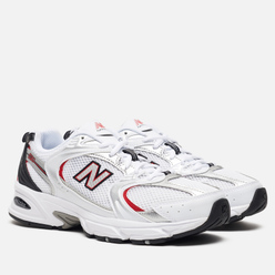 Мужские кроссовки New Balance 530v2 Retro White/Silver/Red