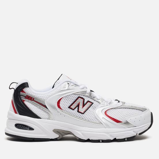 Мужские кроссовки New Balance 530v2 Retro White/Silver/Red