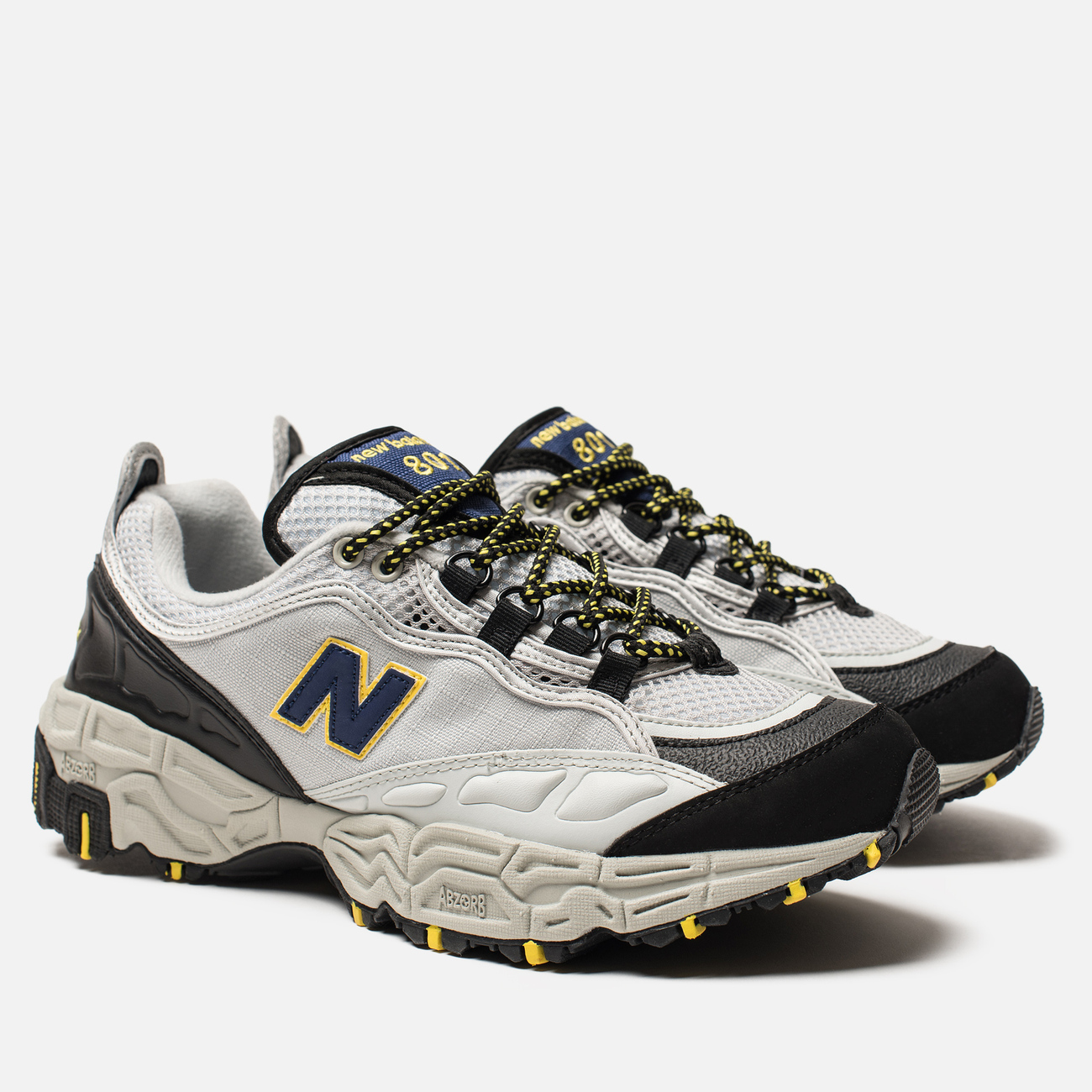 Мужские кроссовки New Balance 801 Trail Grey/Black/Yellow
