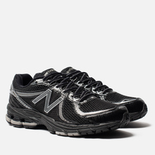Мужские кроссовки New Balance 860v2 Black/Grey фото- 0