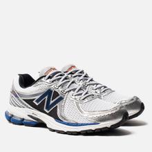Мужские кроссовки New Balance 860v2 White/Blue фото- 0