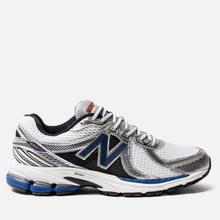 Мужские кроссовки New Balance 860v2 White/Blue фото- 3