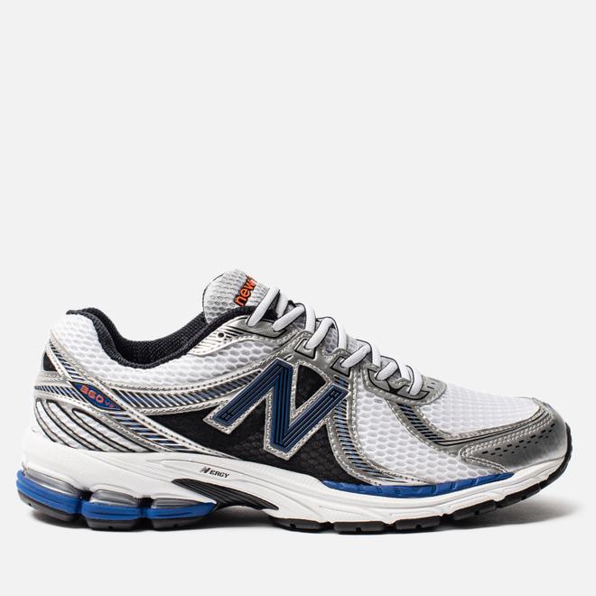 Мужские кроссовки New Balance 860v2 White/Blue