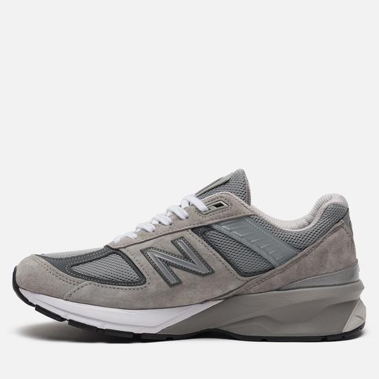 Мужские кроссовки New Balance 990v5 Grey/White