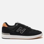 Мужские кроссовки New Balance AM574BLG Black фото- 0
