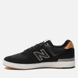 Мужские кроссовки New Balance AM574BLG Black фото- 1