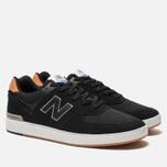 Мужские кроссовки New Balance AM574BLG Black фото- 2
