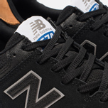 Мужские кроссовки New Balance AM574BLG Black фото- 6