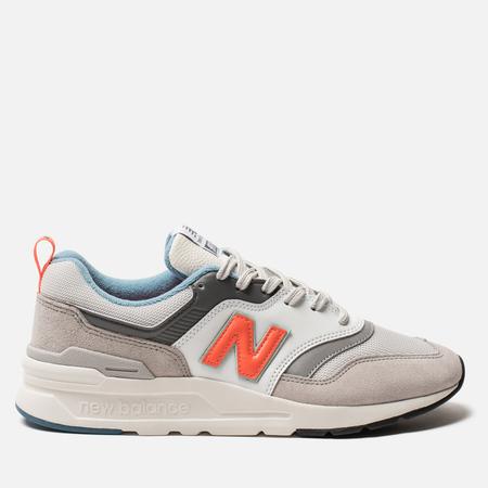 Мужские кроссовки New Balance CM997HAG White/Grey/Orange