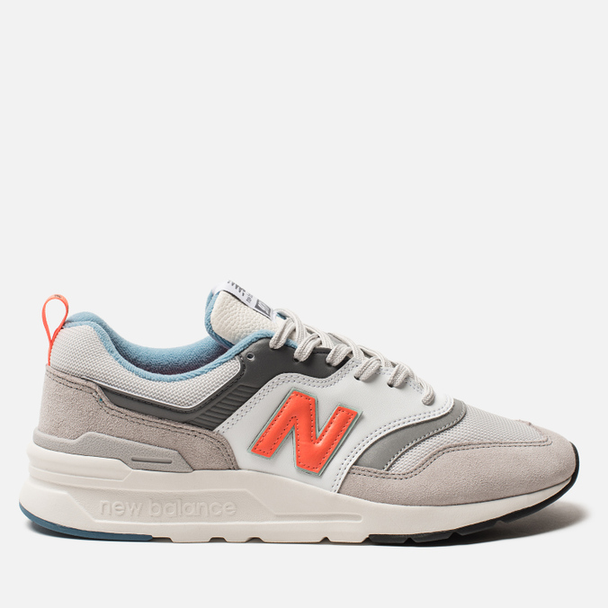 Мужские кроссовки New Balance CM997HAG White/Grey/Orange