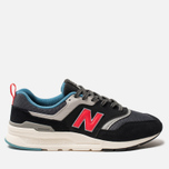 Мужские кроссовки New Balance CM997HAI Black/Grey/Red фото- 0