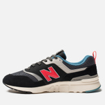 Мужские кроссовки New Balance CM997HAI Black/Grey/Red фото- 2