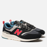 Мужские кроссовки New Balance CM997HAI Black/Grey/Red фото- 1