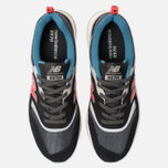 Мужские кроссовки New Balance CM997HAI Black/Grey/Red фото- 5