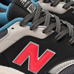 Мужские кроссовки New Balance CM997HAI Black/Grey/Red фото- 6