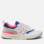 Мужские кроссовки New Balance CM997HAJ White/Pink/Blue фото- 0