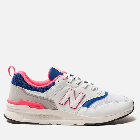 Мужские кроссовки New Balance CM997HAJ White/Pink/Blue