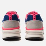 Мужские кроссовки New Balance CM997HAJ White/Pink/Blue фото- 3