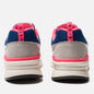 Мужские кроссовки New Balance CM997HAJ White/Pink/Blue фото - 3